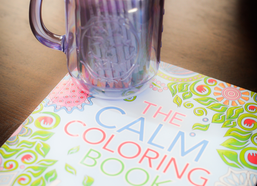 The Calm Coloring Book My Favorite New Hobby