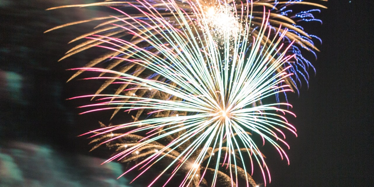 Photographing Fireworks…A Beginner's Experience…