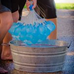 Here is a close up of what it looks like after you fill the water balloons.