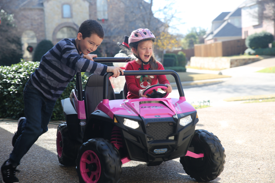 Pink Peg Perego Polaris RZR 900 Ride On
