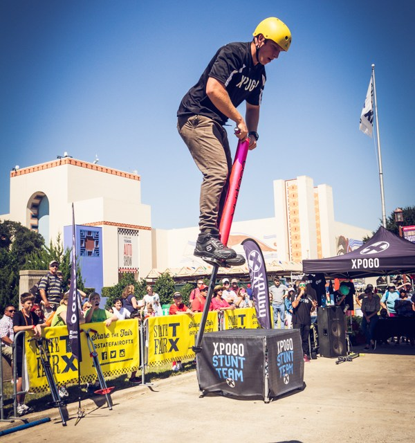 Xpogo…Extreme Pogo at the State Fair of Texas