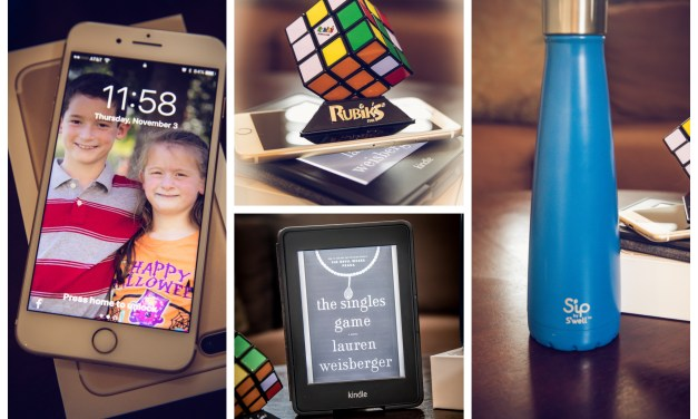 Kindle Paperwhite, S'ip by S'well, iPhone 7 Plus, & Rubik's Cube