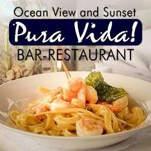 pura vida restaurant and bar at Cristal Ballena Hotel, Uvita Restaurants