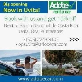 Adobe Rent a Car Uvita - Transportation, Repair & Car Rentals