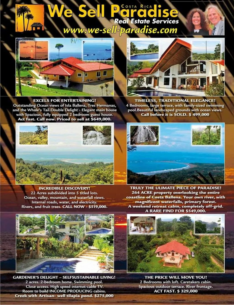 We Sell Paradise, South Pacific real estate services