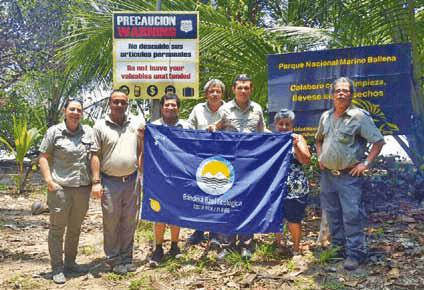 Bandera Azul – Parque Nacional Marino Ballena - Osa, Uvita