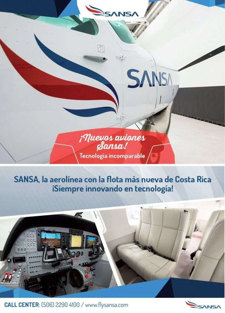 Sansa airlines costa rica