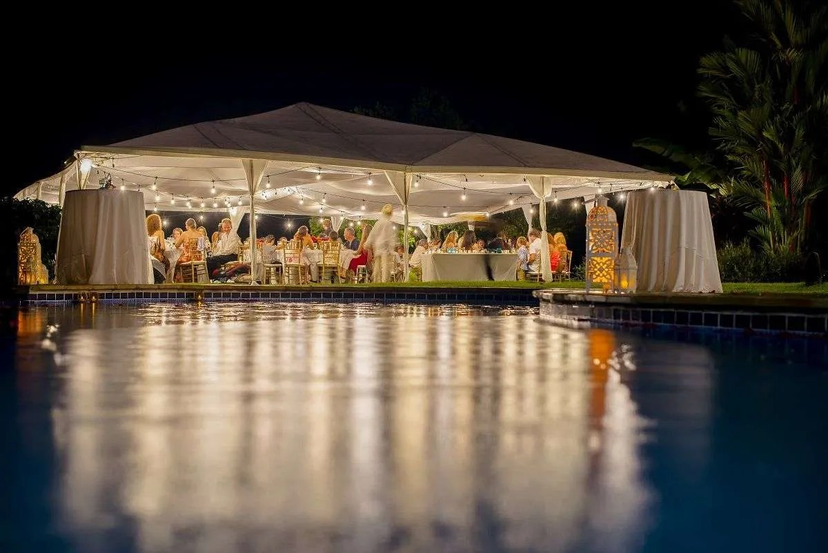 Bodas Del Mar wedding costa rica setting
