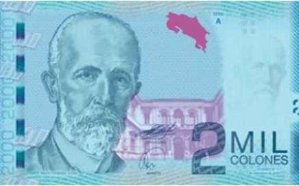 Los billetes de Costa Rica son bellos 2
