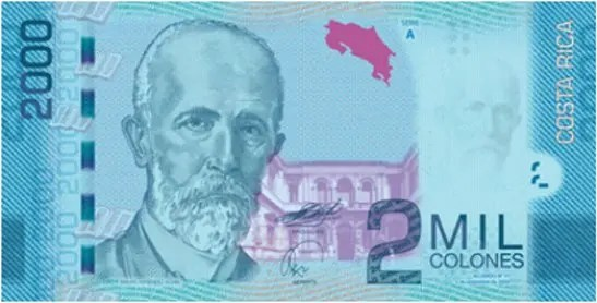 Costarrican Banknotes are Beautiful 2