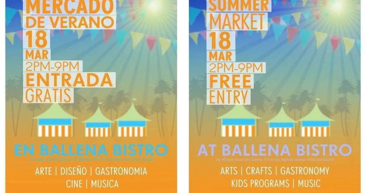 Summer Market at Ballena Bistro