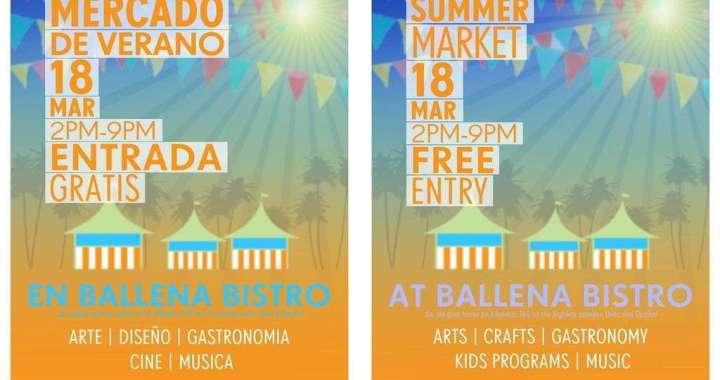 Summer Market at Ballena Bistro