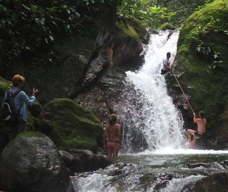 Tour to the waterfall, Lalo Tours Horse Back Riding