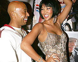 Russell Simmons and soon-to-be ex-wife Kimora Lee