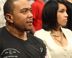 Timbaland and Monique Idlett