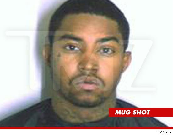 Lil Scrappy booking photo