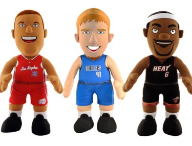 Bleacher Creatures - NBA Plush Dolls