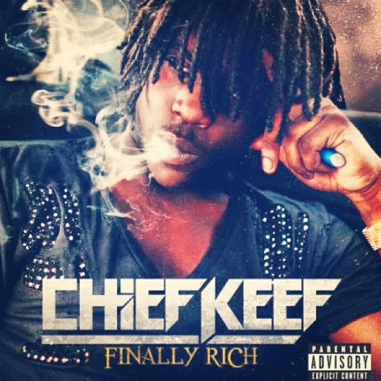 Chief Keef - Finally Rich coverart