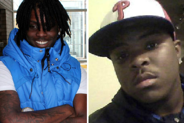 Chief Keef (left) and step brother YPN Boomtown (right)
