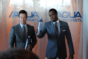 Diddy and Mark Wahlberg sign with AQUAhydrate