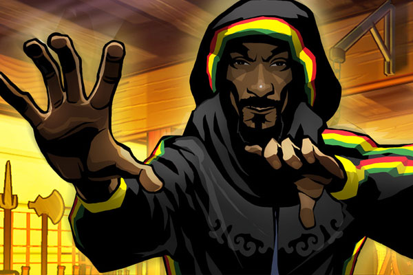 Snoop Dogg in WAY OF THE DOGG video game.