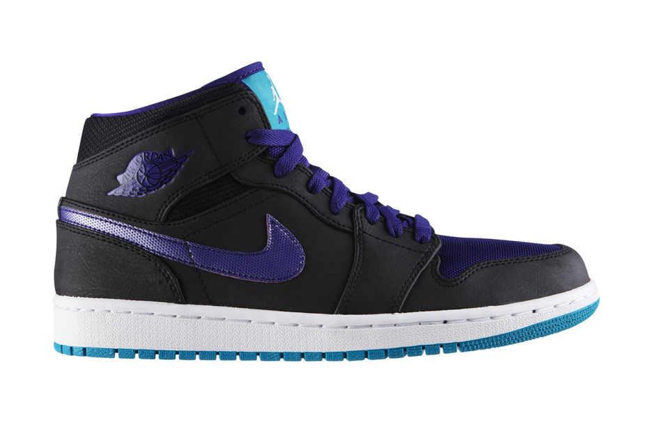 Air Jordan 1 Mid - Black Grape