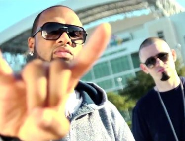 Slim Thug and Paul Wall
