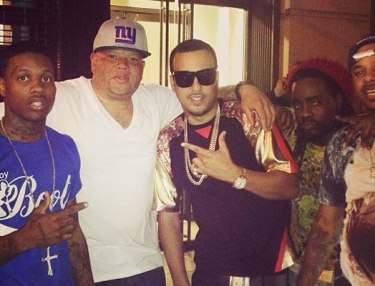 Lil Durk, Sean Pecas and French Montana