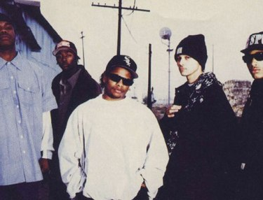 Eazy-E with Bone Thugs-N-Harmony