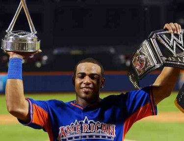 Yoenis Cespedes Wins 2013 Home Run Derby