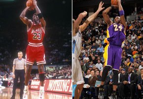 Kobe Bryant has been long-compared to the G.O.A.T., Michael Jordan, but their uncanny similiarities are just ridiculous in this recently released clip. Youtube user Yousseg Hannoun put together a clip a year ago