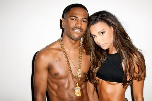 Big Sean & Naya Rivera By Terry Richardson