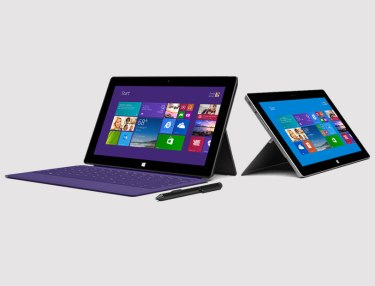 Microsoft Surface 2 and Surface Pro 2