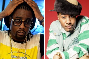 Rappers Wale and Sir Michael Rocks