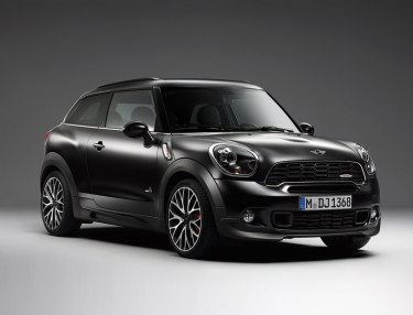 MINI introduces limited Frozen Black metallic
