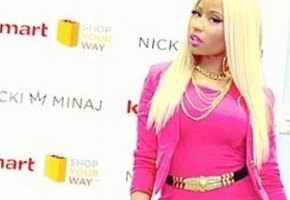 Nicki Minaj Launches Signature Collection At Kmart