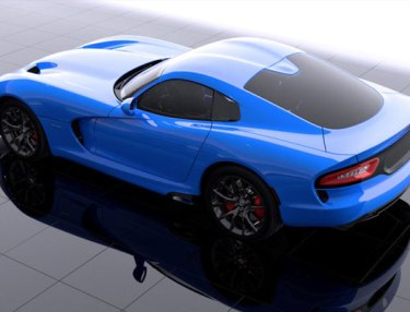 SRT Launches Contest To Name 2014 SRT Viper Color