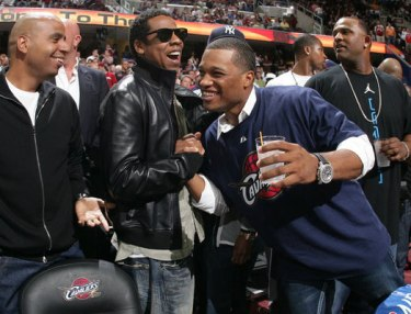 Jay Z and Robinson Cano