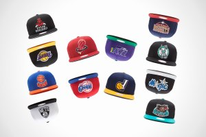 Hall Of Fame x Mitchell & Ness 'Upside Down' Cap