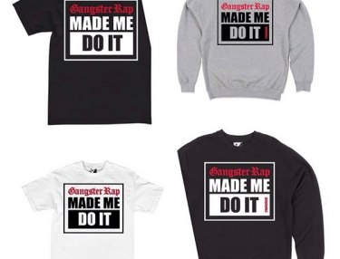 Famous Stars & Straps 'Gangster Rap Made Me Do It' Capsule