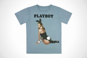 Playboy x Marc Jacobs 60th anniversary Kate Moss Tee