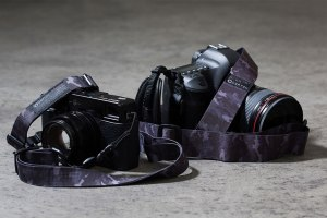 DSPTCH Releases Black Camo Camera Slings