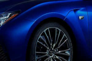 Lexus F Sport at North American International Auto Show in Detroit