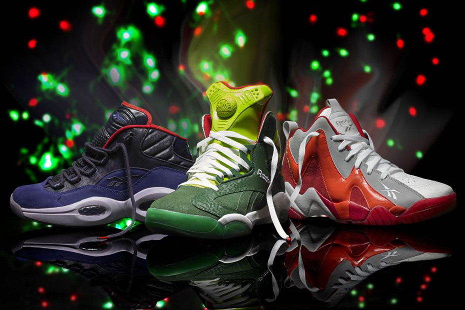 Reebok Readies 2013 'Ghost Of Christmas' Pack
