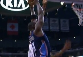 Bismack Biyombo Throws It Down With Authority