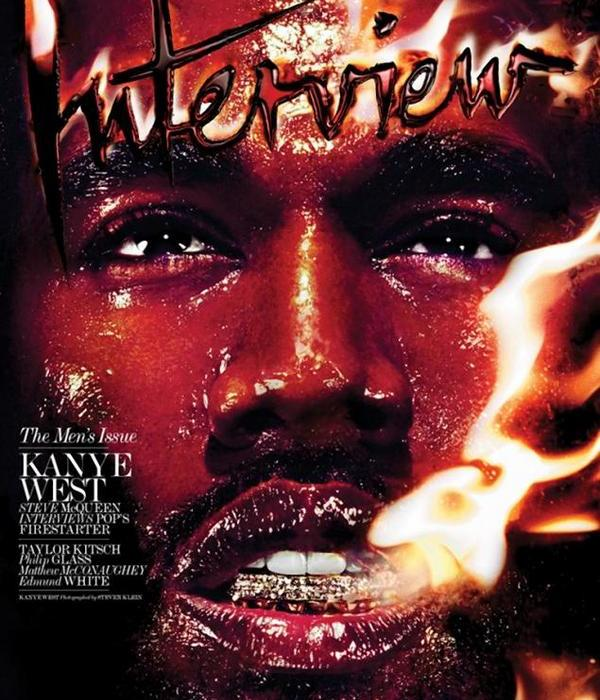 Kanye West covers Interview Magazine February 2014 issue