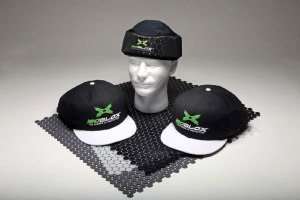 Padded baseball caps by isoBlox