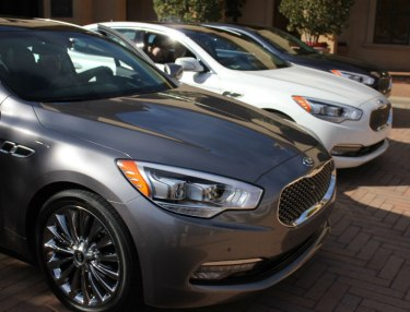 KIA K900 Press Introduction: Day 2 Test Drive