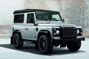 2015 Land Rover Defender Black & Silver Editions