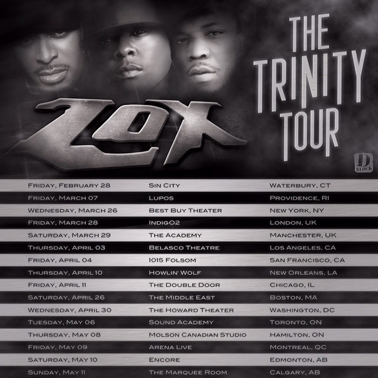 The Lox - The Trinity Tour 2014